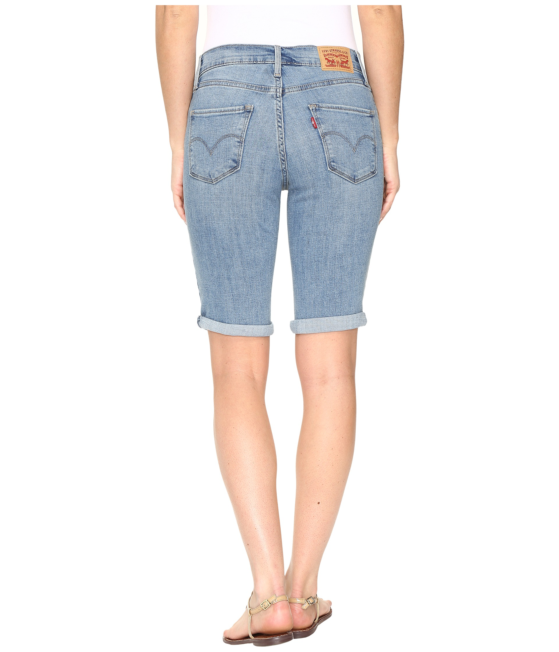 With these classic bermuda shorts for women from Old Navy the possibilities are endless for creating multiple stylish outfits. Choose from an array of solid colors and patterns in twill, denim and more. The length of these women's bermuda shorts falls just above the knee, accompanied by longer inseams deliver extra comfort.