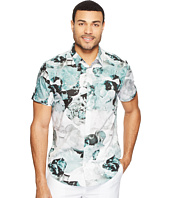 Calvin Klein - Short Sleeve Watercolor Flora