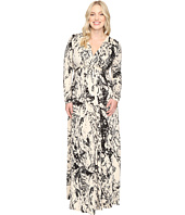 Rachel Pally - Plus Size Long Sleeve Full Length Caftan White Label