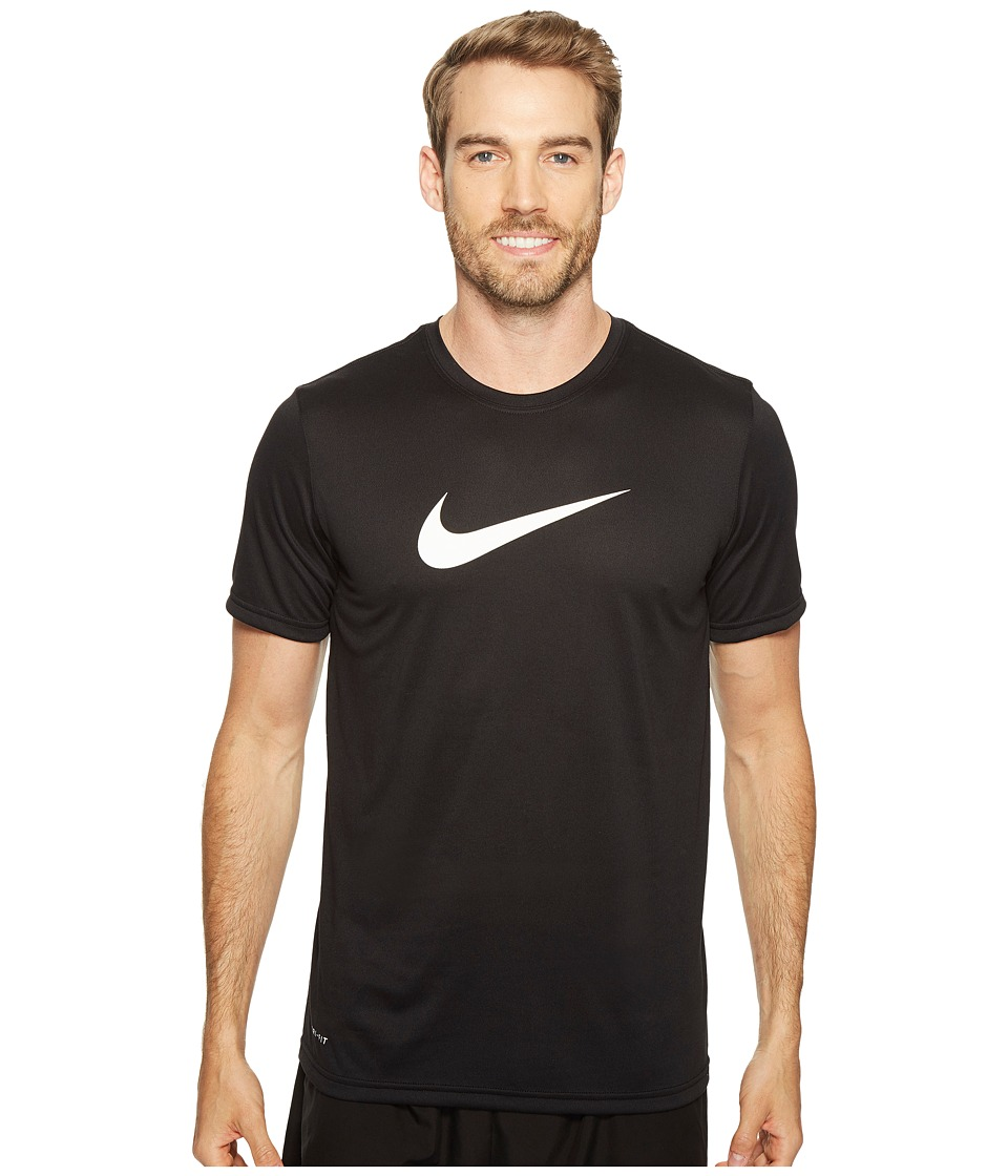 Nike Dry Training Tee (Black/White) Men