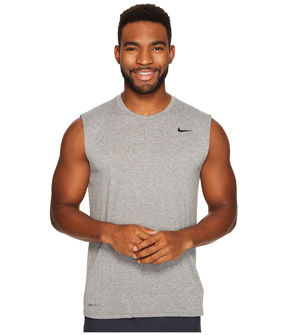 Nike Legend 2.0 Sleeveless Tee (Carbon Heather/Black) Men