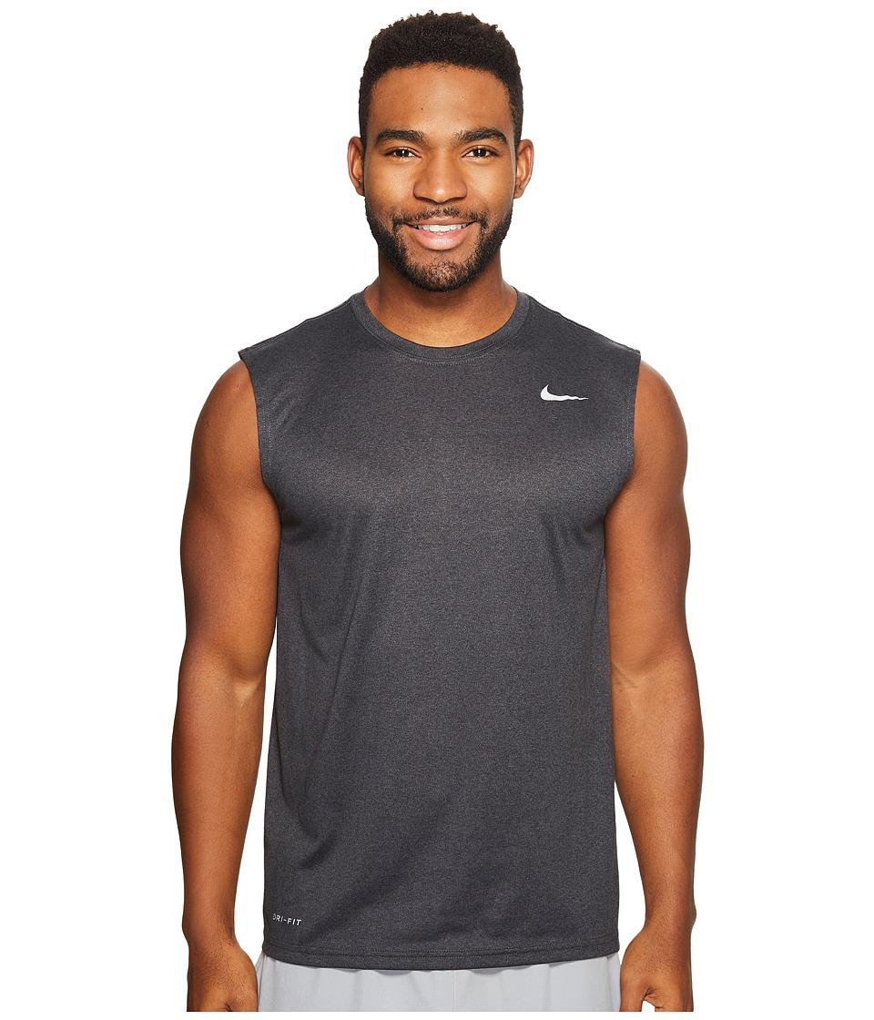 Nike Legend 2.0 Sleeveless Tee (Black/Anthracite/Heather/Matte Silver) Men