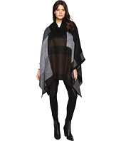 Steve Madden - Mondrain Color Block Turtleneck Poncho