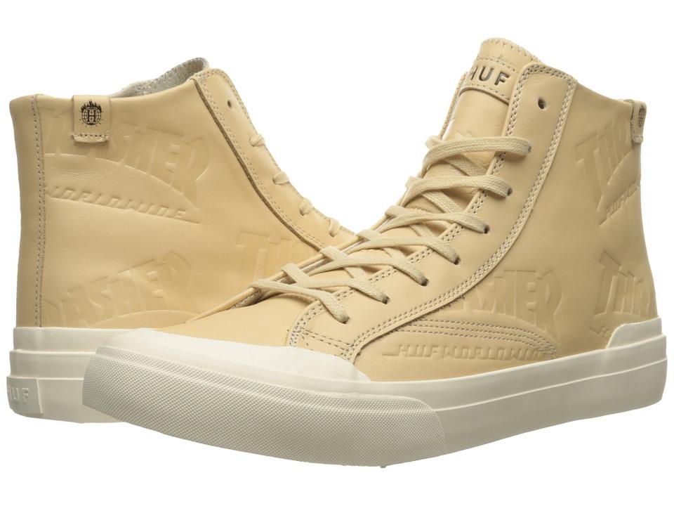 HUF - Huf X Thrasher Classic Hi (Tan) Mens Skate Shoes