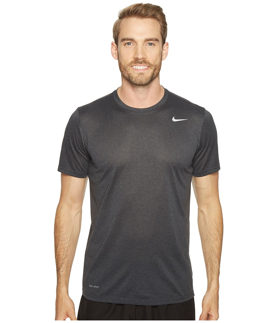 Nike Legend 2.0 Short Sleeve Tee (Black/Anthracite/Heather/Matte Silver) Men