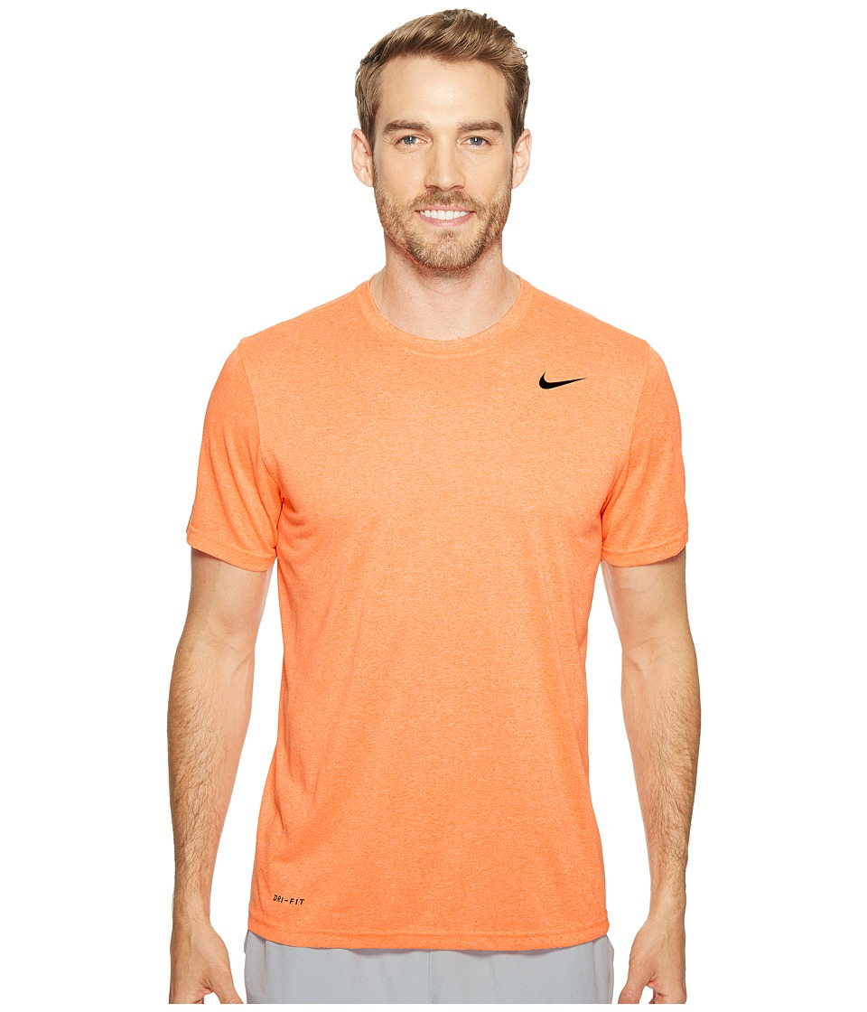 Nike Legend 2.0 Short Sleeve Tee (Tart/Sunset Glow/Black) Men