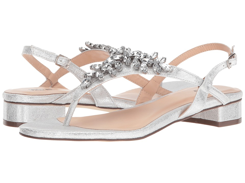 Paradox London Pink - Flame (Silver) Women's Sandals