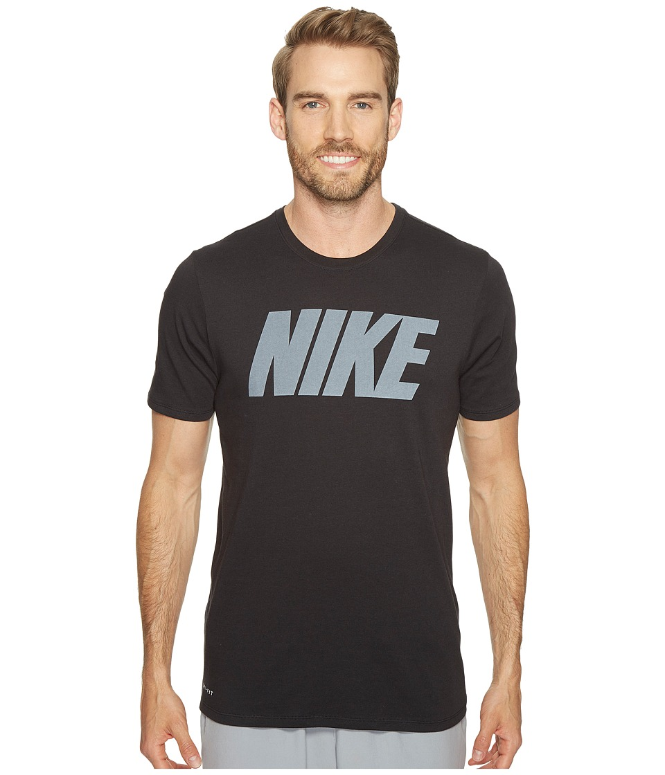 Nike Dry Block Training T-Shirt (Black/White) Men