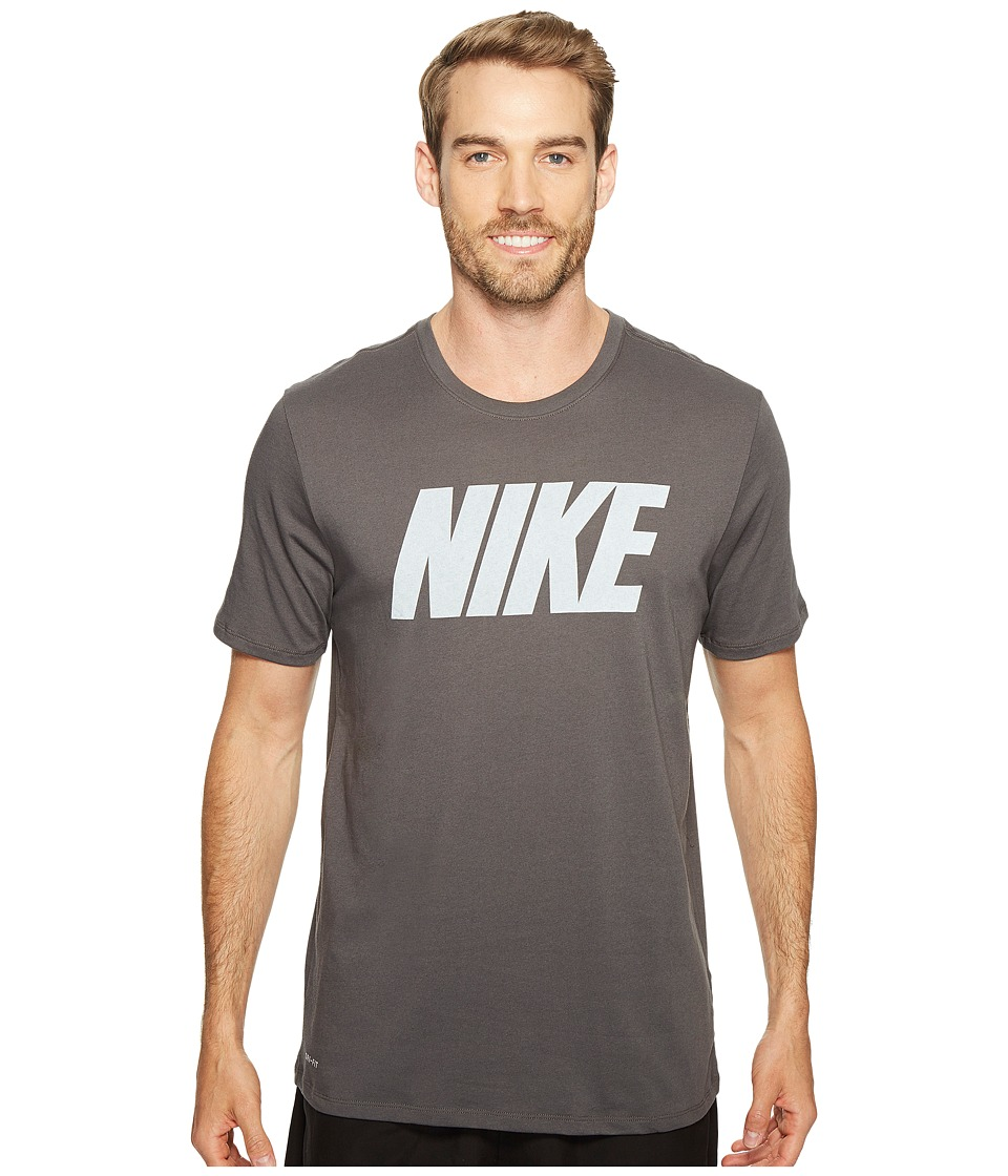 Nike Dry Block Training T-Shirt (Midnight Fog/White) Men
