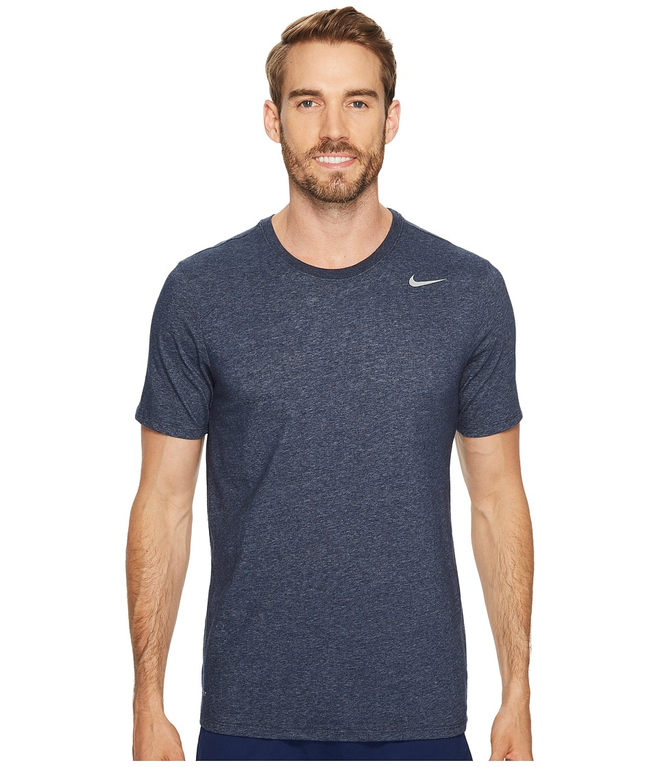 Nike Dri-FITtm Version 2.0 T-Shirt (Obsidian Heather/Matte Silver) Men