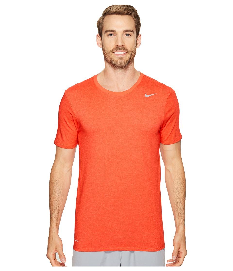 Nike Dri-FIT Version 2.0 T-Shirt (Track Red/Sunset Glow) Men