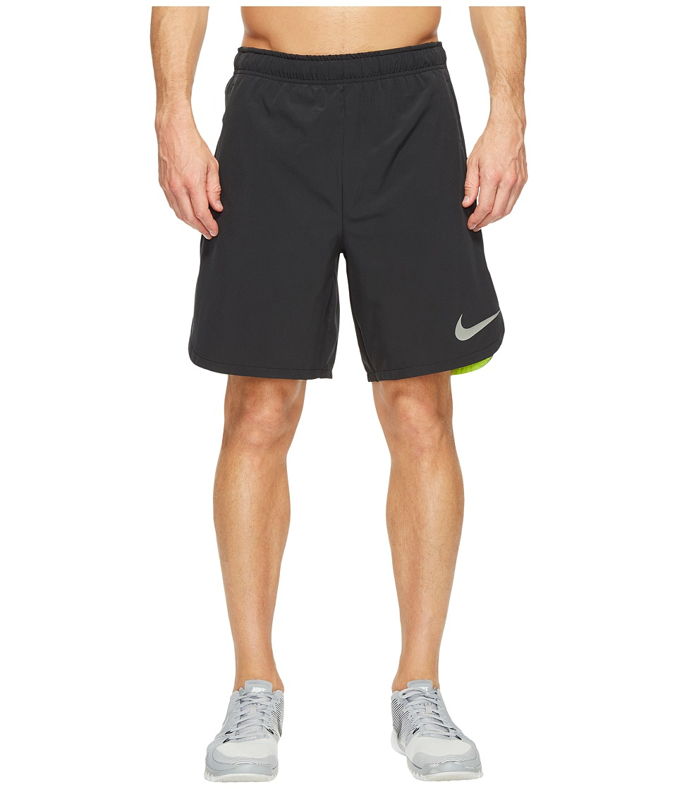 Nike Flex 8 Training Short (Black/Volt) Men