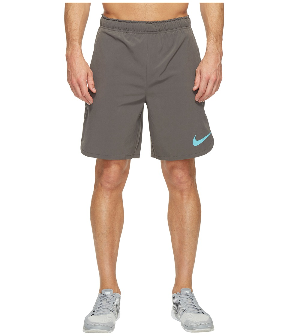Nike Flex 8 Training Short (Midnight Fog/Vivid Sky) Men