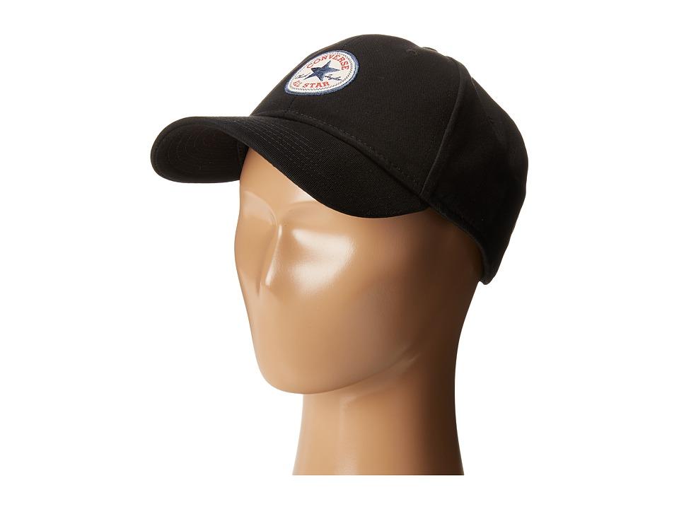 Converse - Core Baseball Cap (Black) Baseball Caps