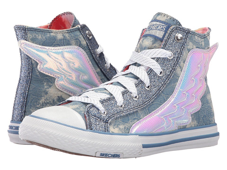 SKECHERS - Utopia - Wing It (Denim) Womens Shoes