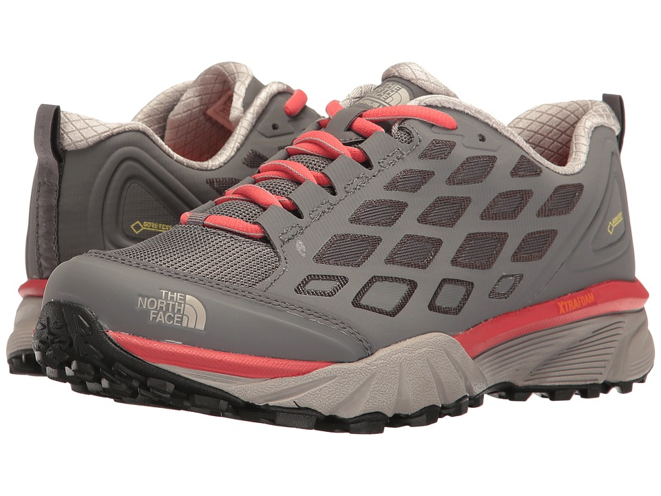 The North Face Endurus Hike GTX (Smoked Pearl Grey/Cayenne Red) Women