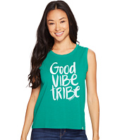 Life is Good - Good Vibe Tribe Muscle Tee