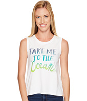 Life is Good - Take Me Ocean Muscle Tee