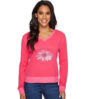 Life is good - Flower Summertime Sweatshirt