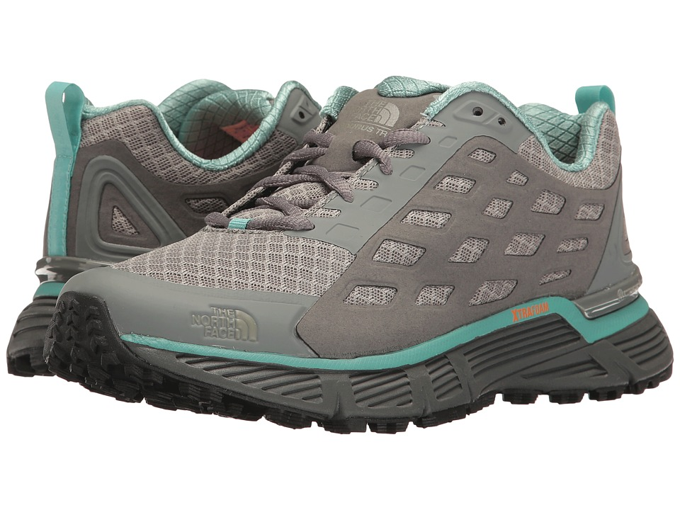 The North Face - Endurus TR (Moon Mist Grey/Agate Green) Womens Shoes