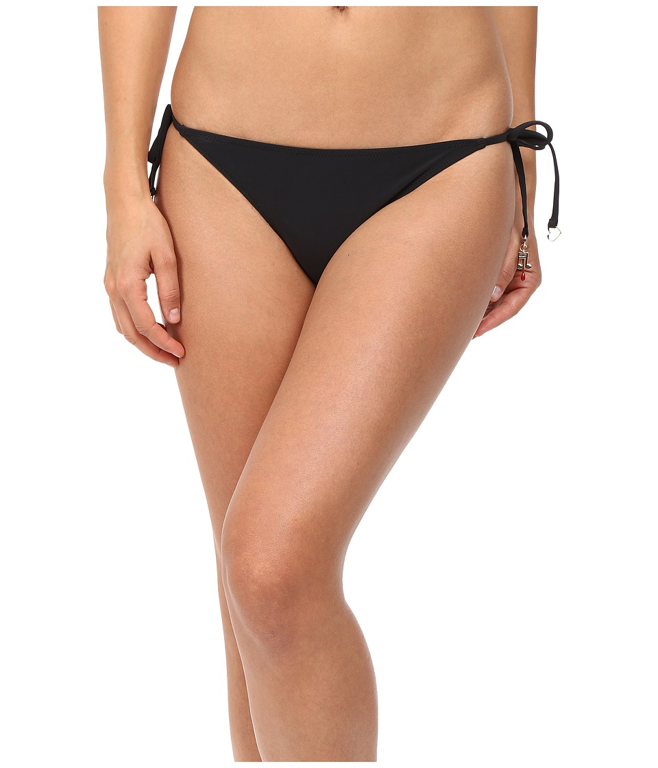 Stella McCartney - Timeless Basics Tie Side Bikini Bottom (Black) Womens Swimwear