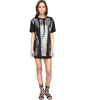 Moschino - Black n' White Over Tee Shirt Cover-Up