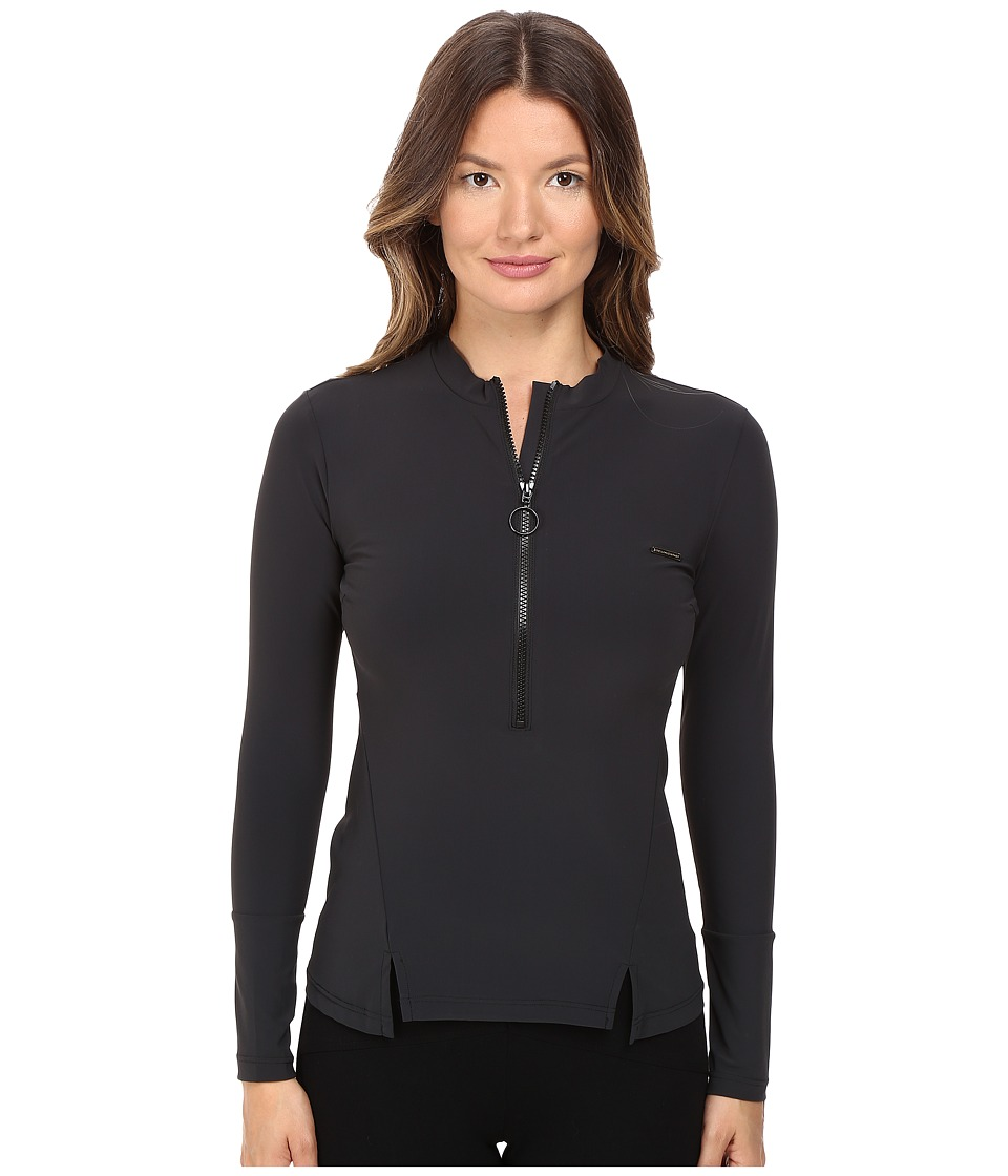 Stella McCartney - Timeless Basics Rashguard (Black) Womens Swimwear