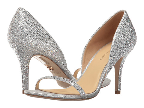 JL by Judith Leiber Michela - Silver Glitter Leather