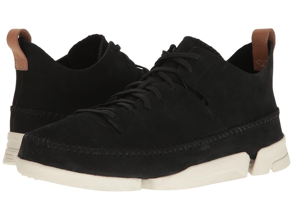 Clarks Trigenic Flex (Black Nubuck) Men's Shoes