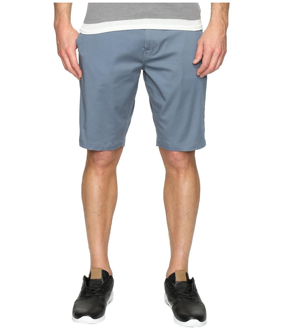 Volcom Frickin Modern Stretch Chino Shorts (Ash Blue) Men