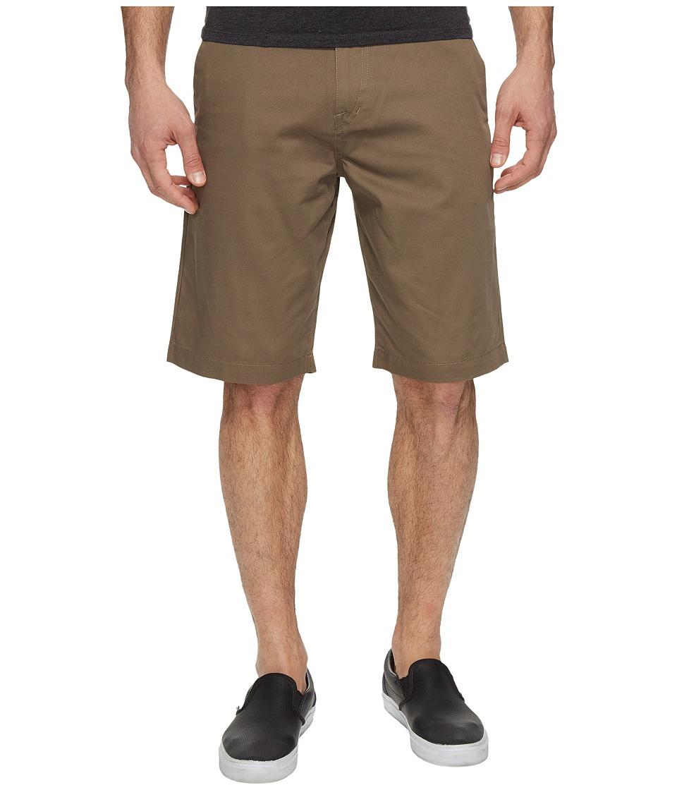 Volcom Frickin Chino Shorts (Mushroom) Men