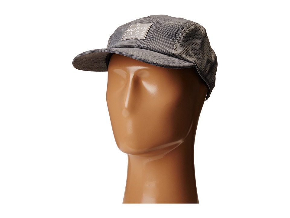 The North Face - Tech Five Panel Sporty (Zinc Grey Glen Plaid Print (Prior Season)) Caps