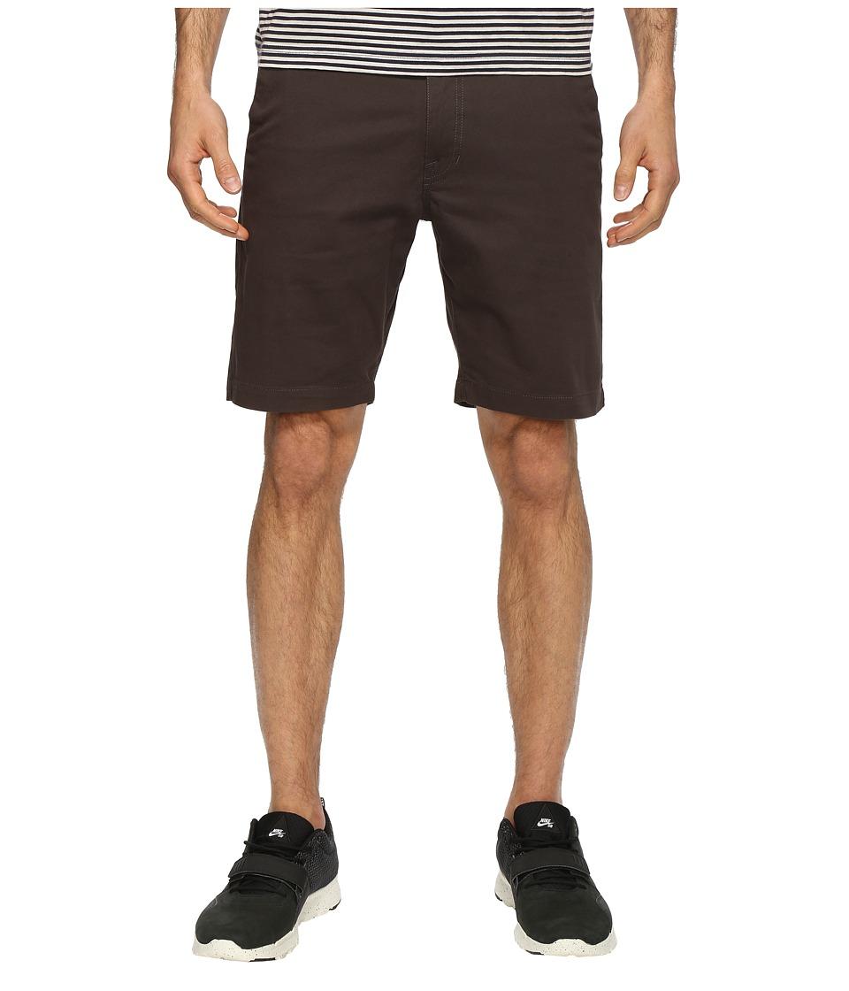 Volcom Frickin Lightweight Chino Shorts (Stealth) Men