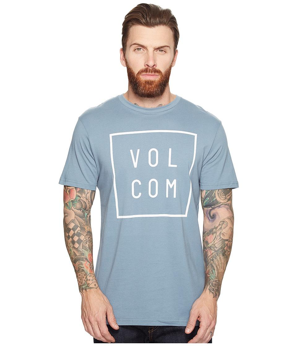 Volcom Flagg Short Sleeve T-Shirt (Ash Blue) Men