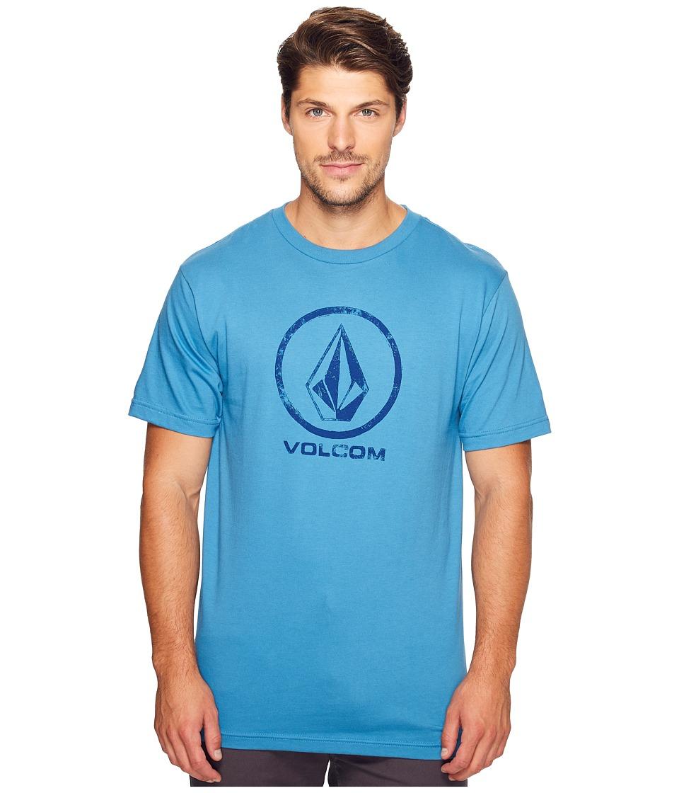 Volcom Lino Stone T-Shirt (Deep Water) Men
