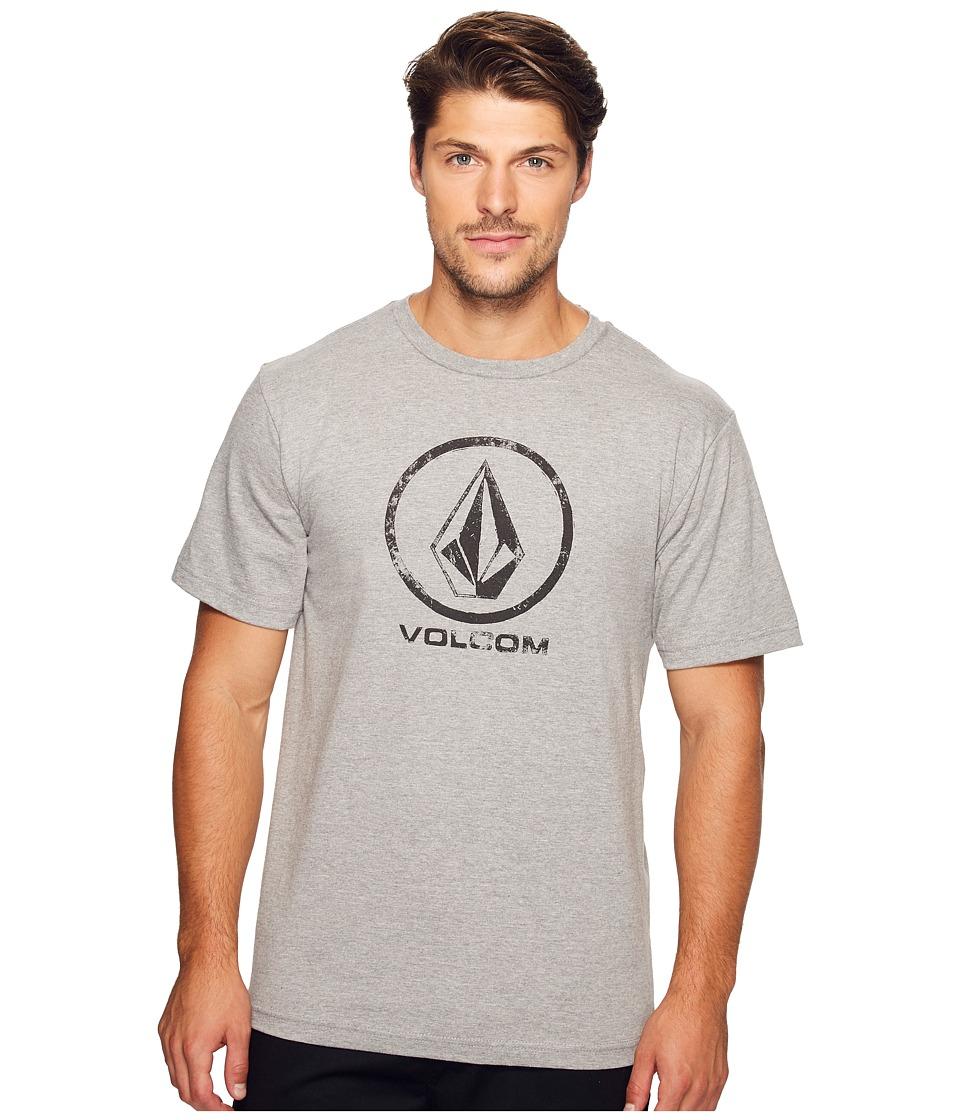 Volcom Lino Stone T-Shirt (Heather Grey) Men
