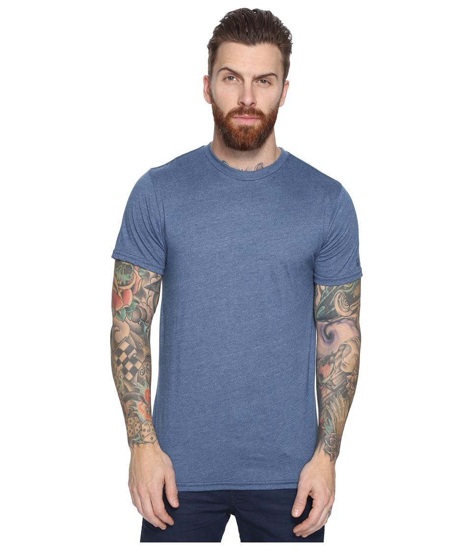 Volcom Heather Solid T-Shirt (Smokey Blue) Men