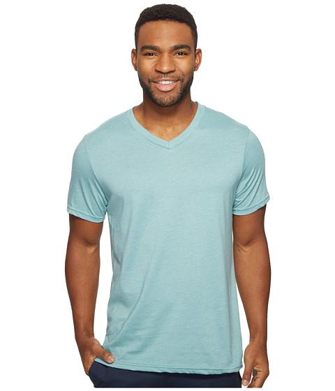 Volcom Heather Short Sleeve V-Neck T-Shirt - Sea Blue Heather