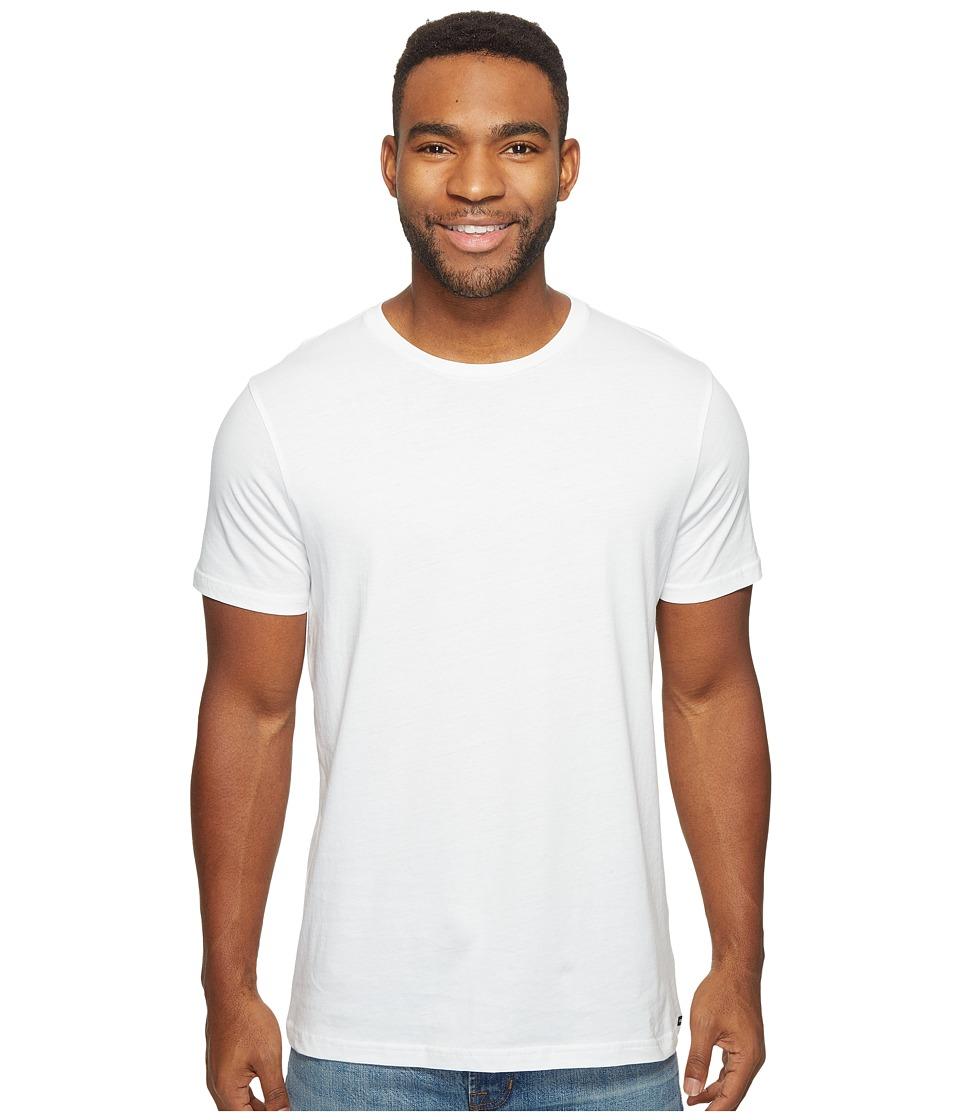 Volcom Solid Short Sleeve T-Shirt (White) Men