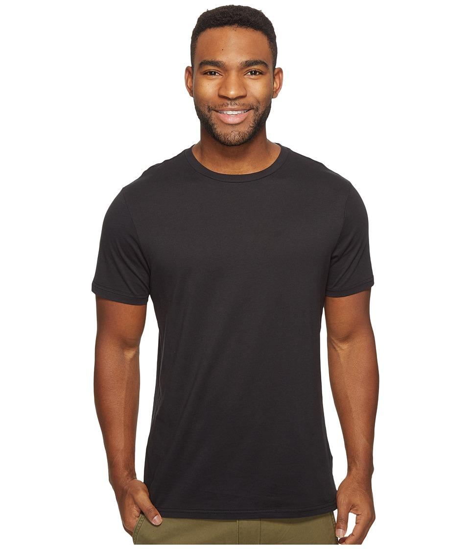 Volcom Solid Short Sleeve T-Shirt (Black) Men