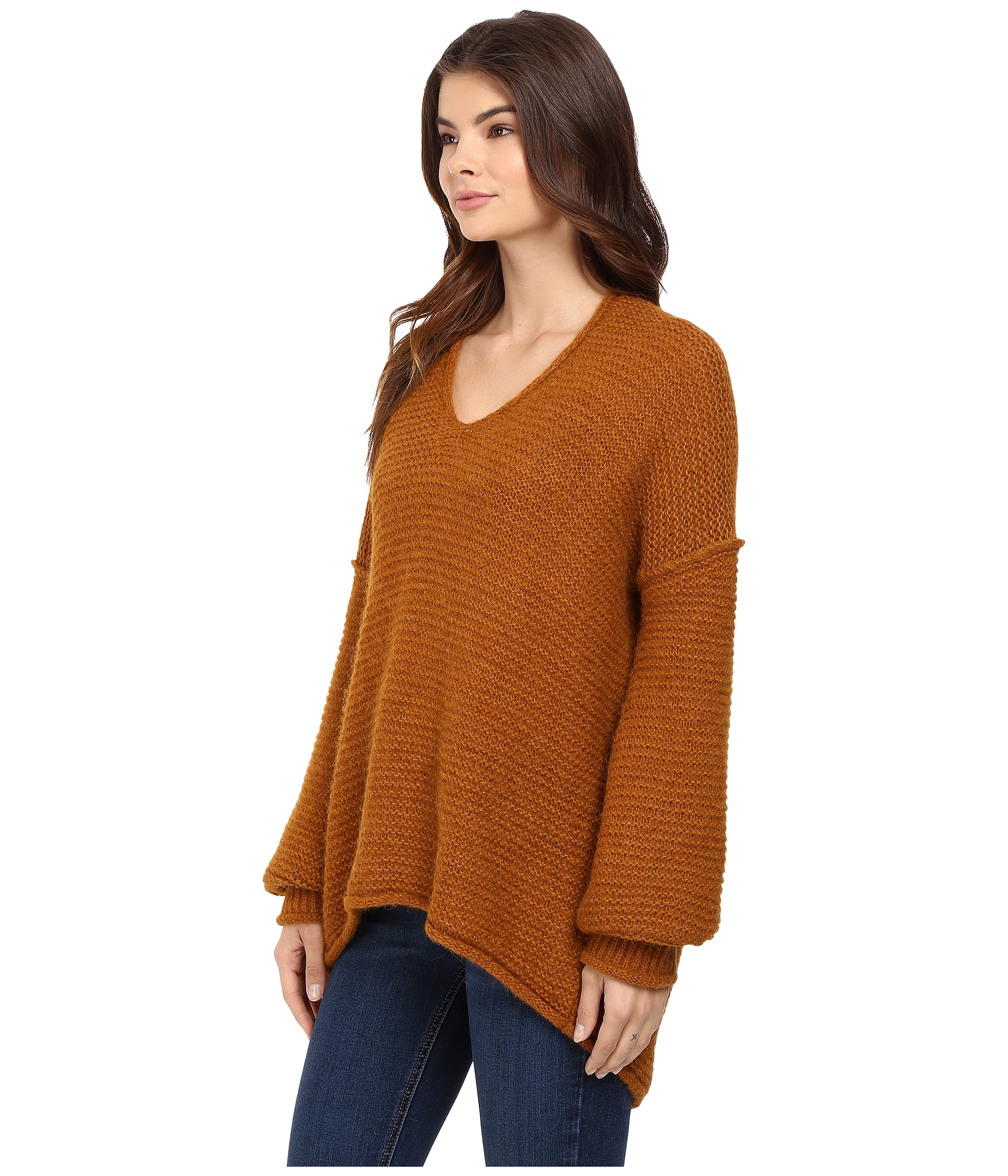 Free People All Mine Sweater Terracotta - Zappos.com Free ...