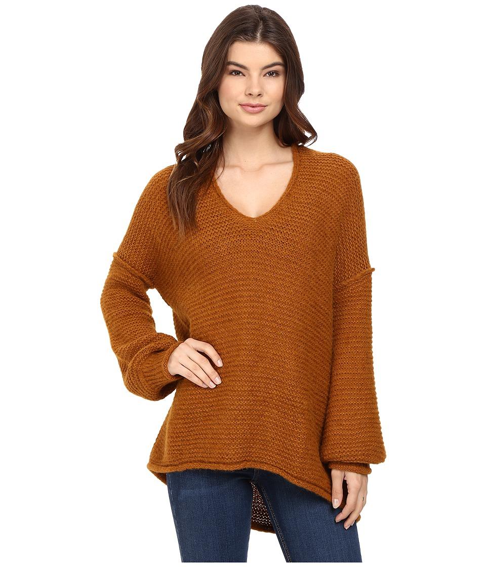 Free People All Mine Sweater (Terracotta) Women