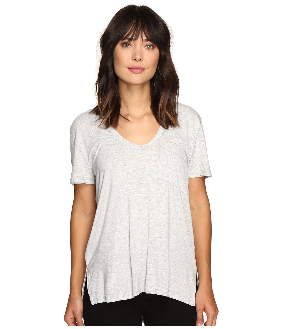 Free People Rising Sun Tee (Grey) Women