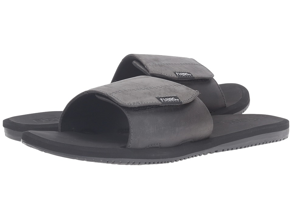 Flojos - Duke (Black) Men's Sandals