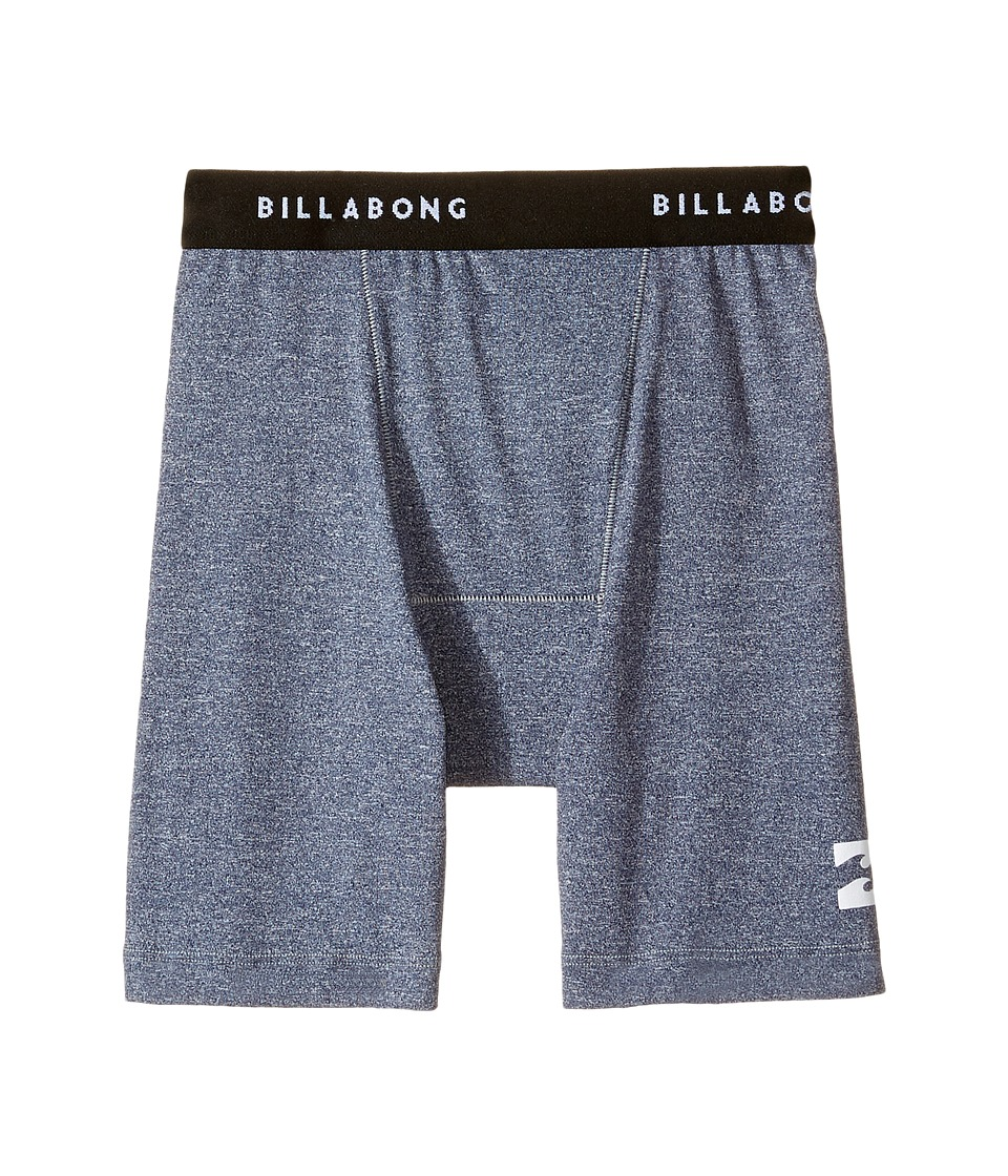 Billabong Kids All Day Undershort (Toddler/Little Kids/Big Kids) (Blue Heather) Boy