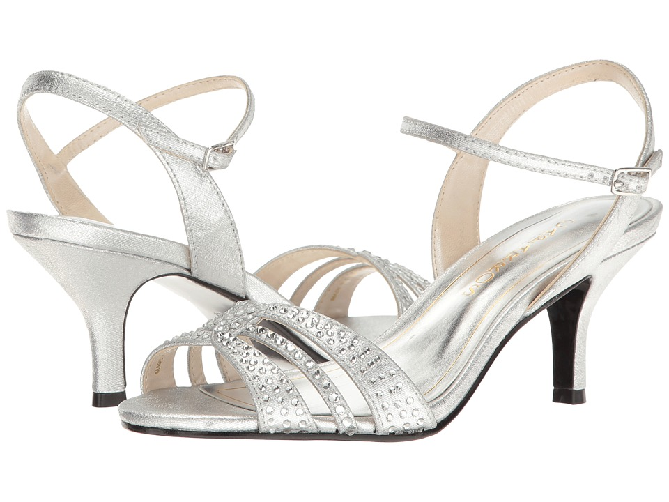 Caparros Gemini (Silver Metallic Fabric) Women