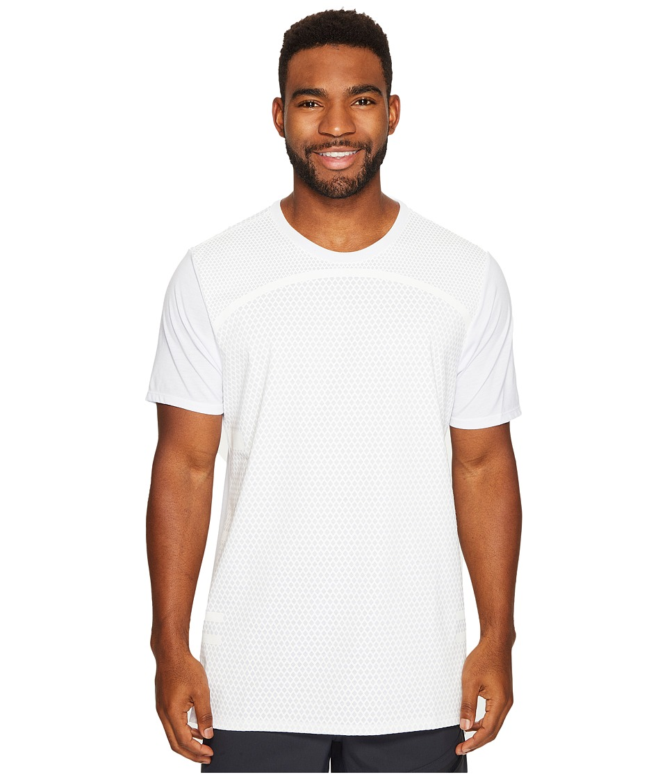 Nike Dry Basketball T-Shirt (White/White) Men