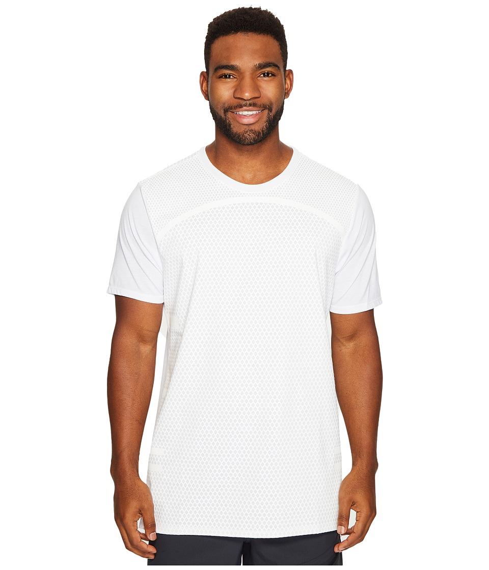 Nike Dry Basketball T-Shirt (White/White) Men