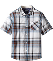 O'Neill Kids - Emporium Plaid Short Sleeve Shirt (Little Kids)