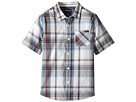 O'Neill Kids - Emporium Plaid Short Sleeve Shirt (Little Kids)